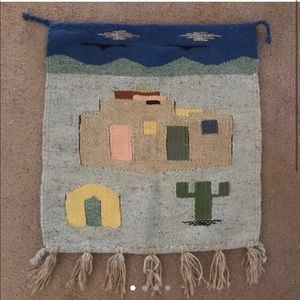 Other - Handwoven Tapestry Pueblo and Landscape
